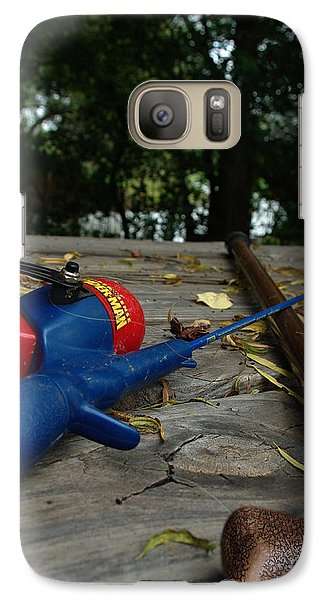 Galaxy Case featuring the photograph The Anglers by Peter Piatt