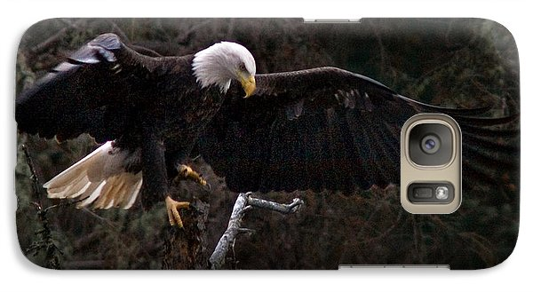 Galaxy Case featuring the photograph The Approach by J L Woody Wooden