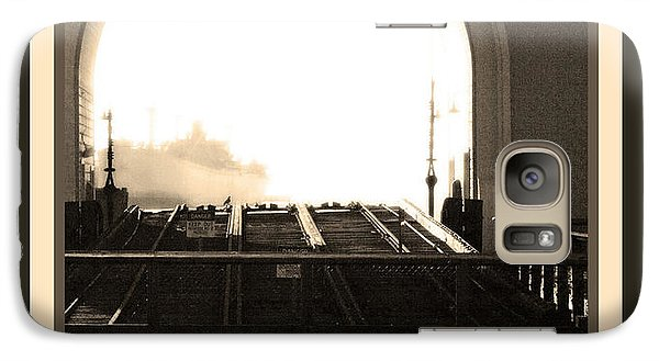 Galaxy Case featuring the photograph The Arch by Steve Godleski