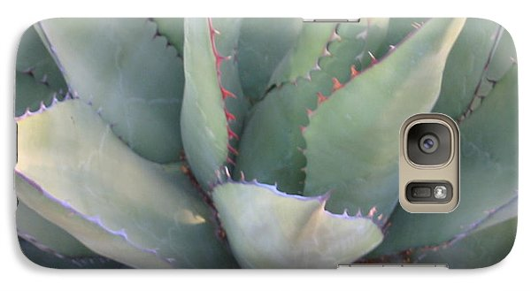 Galaxy Case featuring the photograph The Arizona Desert by Jean Marie Maggi
