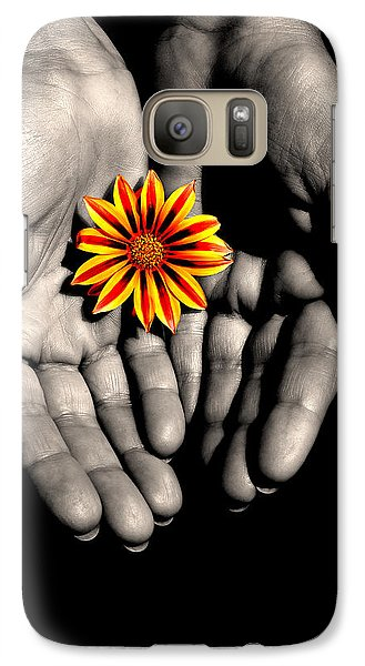 Galaxy Case featuring the photograph The Art Of Giving by Marwan Khoury