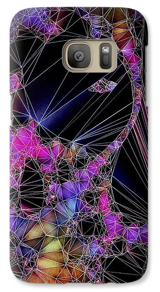 Galaxy Case featuring the painting The Artists Soul by Susan Maxwell Schmidt
