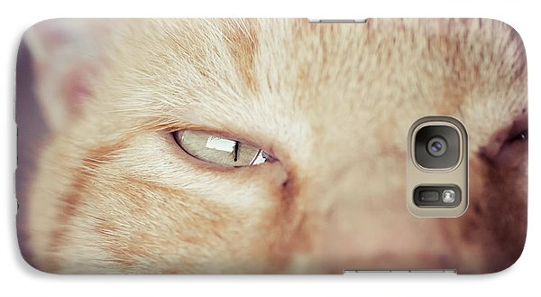 Galaxy Case featuring the photograph The Assistant  by Julie Clements