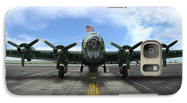 Galaxy Case featuring the photograph The B17 Flying Fortress by Rod Seel