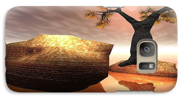 Galaxy Case featuring the digital art The Baobab Tree by Jacqueline Lloyd