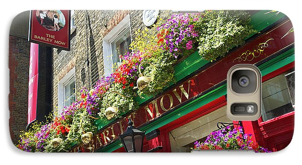 Galaxy Case featuring the photograph The Barley Mow by Cheri Randolph