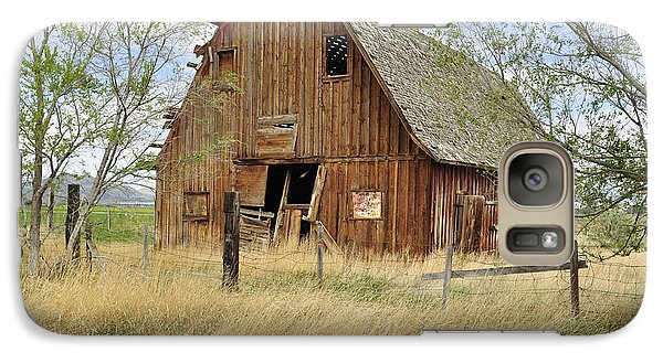 Galaxy Case featuring the photograph the Barn  by Fran Riley