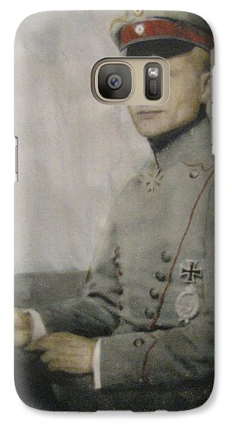 Galaxy Case featuring the painting The Baron by Vikram Singh