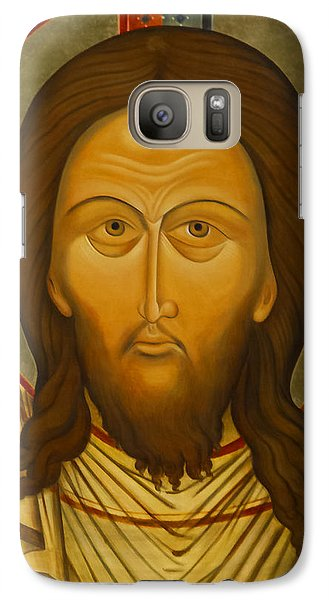 Galaxy Case featuring the photograph The Basilica Of Santa Maria In Trastevere Icon by John Hix