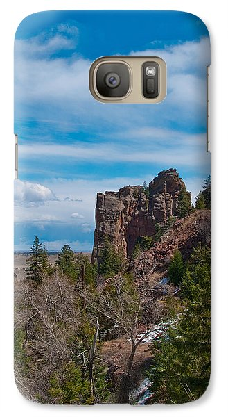 Galaxy Case featuring the photograph The Bastile  by Tom Potter