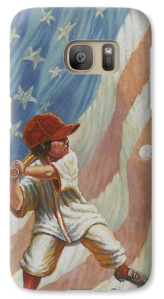 The Batter Galaxy S7 Case by Gregory Perillo