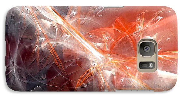 Galaxy Case featuring the digital art The Battle by Margie Chapman