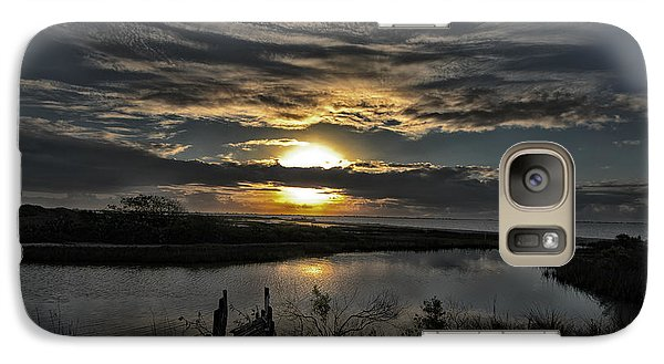 Galaxy Case featuring the photograph The Bay At Dawn by Susan D Moody