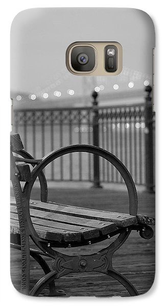 Galaxy Case featuring the photograph The Bay Bridge by Alex King