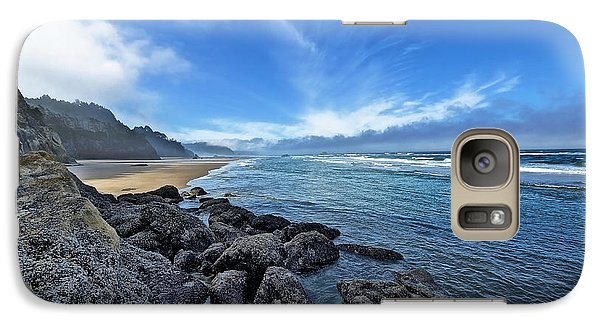 Galaxy Case featuring the photograph The Beach 1 by Thomas Born