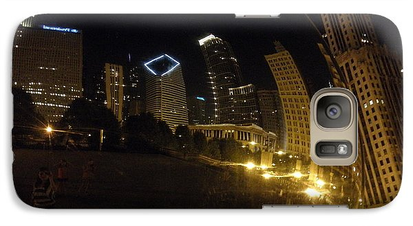 Galaxy Case featuring the photograph The Bean by Tiffany Erdman