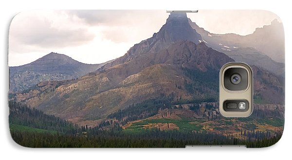 Galaxy Case featuring the photograph The Beartooth Mountains   by Lars Lentz