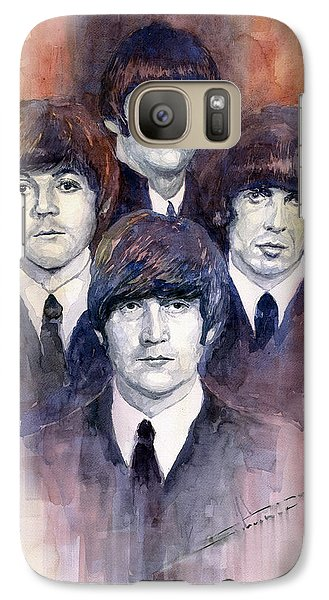 Musicians Galaxy S7 Case - The Beatles 02 by Yuriy Shevchuk