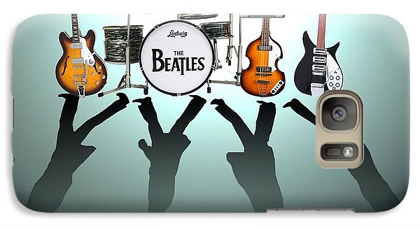 The Beatles Galaxy Case by Lena Day