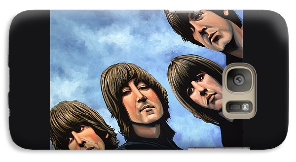 Rock And Roll Galaxy S7 Case - The Beatles Rubber Soul by Paul Meijering