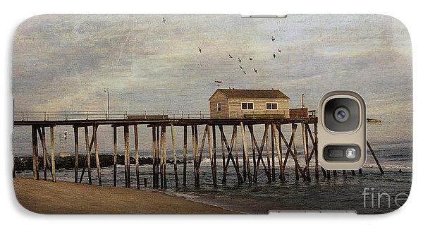 Galaxy Case featuring the photograph The Belmar Fishing Club Pier by Debra Fedchin