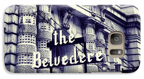 Galaxy Case featuring the photograph The Belvedere by Toni Martsoukos