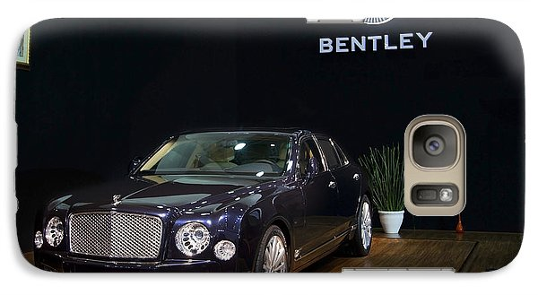 Galaxy Case featuring the photograph The Bentley Mulsanne Mulliner by Mohamed Elkhamisy