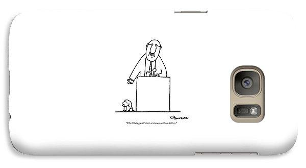 The Bidding Will Start At Eleven Million Dollars Galaxy S7 Case