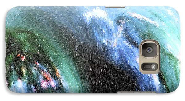 Galaxy Case featuring the photograph The Big Wave by Mariarosa Rockefeller