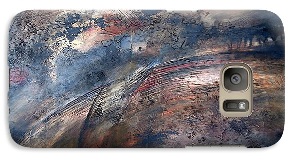 Galaxy Case featuring the painting The Birth Of Andromeda by Buck Buchheister