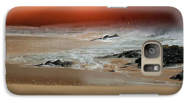 The Birth Of The Island Galaxy S7 Case by Sharon Mau