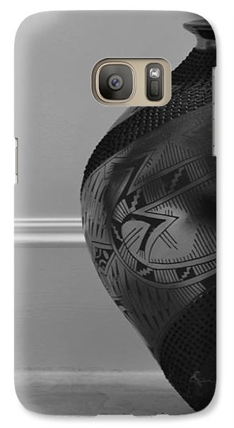 Galaxy Case featuring the photograph The Black Pot by Nadalyn Larsen