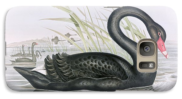 The Black Swan Galaxy S7 Case by John Gould