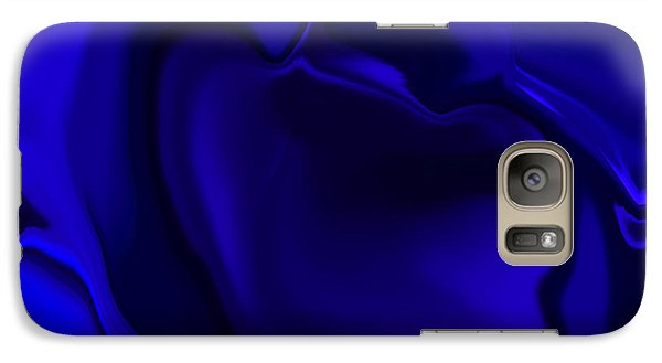 Galaxy Case featuring the digital art The Blob by Gayle Price Thomas