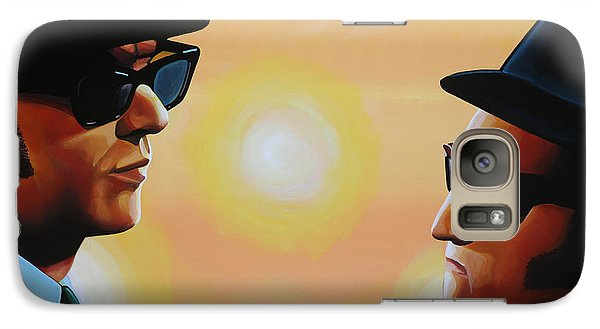 Rhythm And Blues Galaxy S7 Case - The Blues Brothers by Paul Meijering