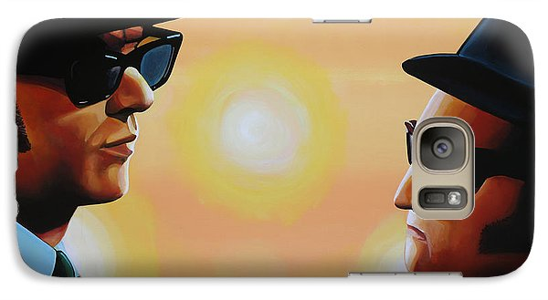 The Blues Brothers Galaxy S7 Case by Paul Meijering