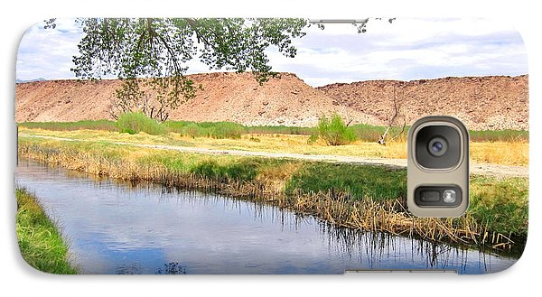 Galaxy Case featuring the photograph The Bluffs by Marilyn Diaz