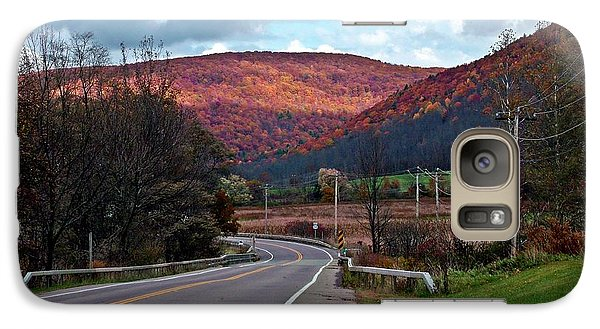Galaxy Case featuring the photograph The Blush Of Autumn by Christian Mattison