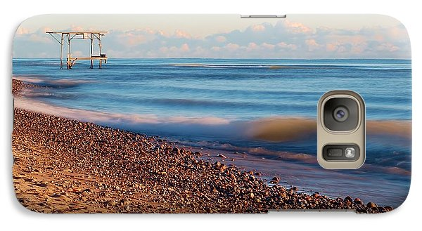Galaxy Case featuring the photograph The Boat Hoist by Patrick Shupert