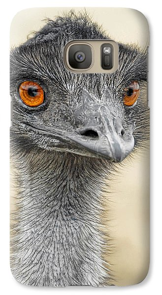 Galaxy Case featuring the photograph The Boss by Dyle   Warren