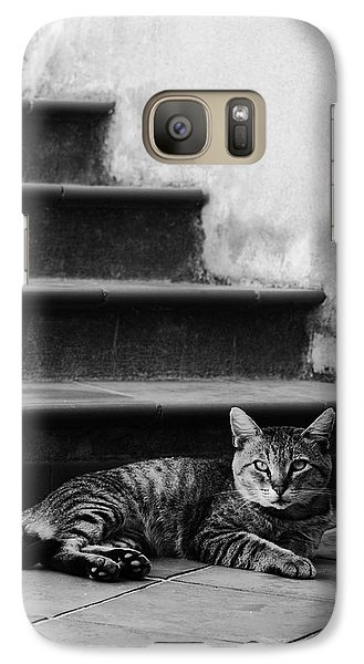 Galaxy Case featuring the photograph The Boss by Laura Melis