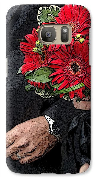 Galaxy Case featuring the photograph The Bouquet by Zinvolle Art