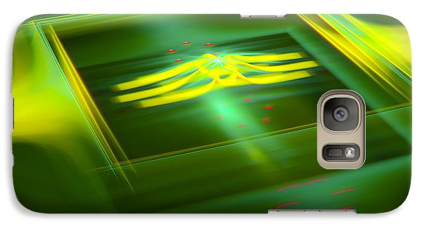 Galaxy Case featuring the digital art The Box by Melissa Messick