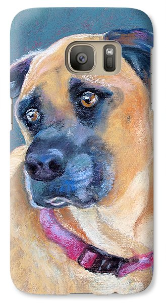 Galaxy Case featuring the pastel The Boxer by Julie Maas