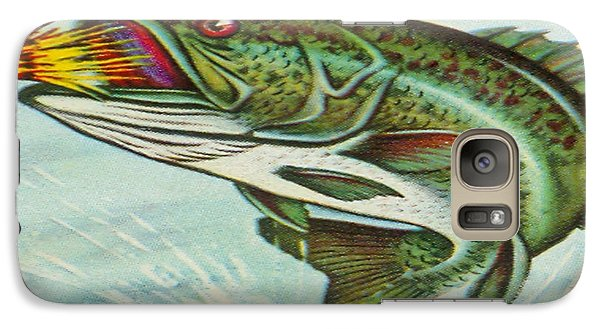 Galaxy Case featuring the digital art The Break by Cathy Anderson