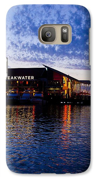 Galaxy Case featuring the photograph The Breakwater  by Serene Maisey