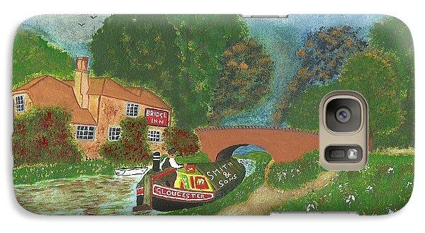 Galaxy Case featuring the painting The Bridge Inn by John Williams