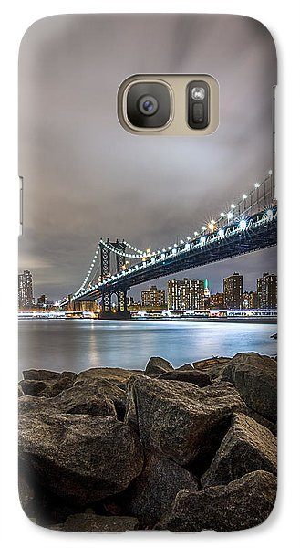 Galaxy Case featuring the photograph The Bridge Of 2 Cities by Anthony Fields