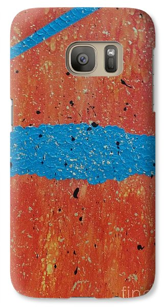 Galaxy Case featuring the painting The Bridge Over Grief Is Water by Theresa Kennedy DuPay