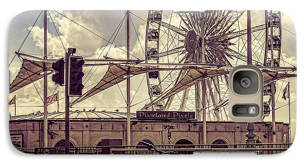 Galaxy Case featuring the photograph The Brighton Wheel by Chris Lord